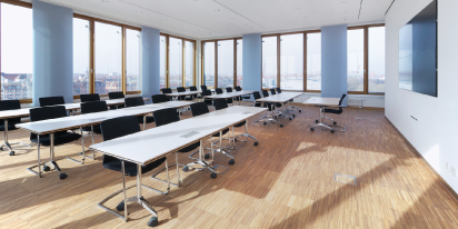Tullnau Tagungspark - Conferences, events - Conference rooms in Nuremberg - Conference rooms directly at the Wöhrder See - equipped with state-of-the-art technology, meeting rooms, seminar rooms, seminars, event rooms, event location, B2B events, catering - Tullnaupark