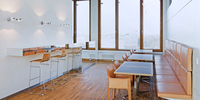 Tullnau Tagungspark - Conferences, events - Conference rooms in Nuremberg - Conference rooms directly at the Wöhrder See - equipped with state-of-the-art technology, meeting rooms, seminar rooms, seminars, event rooms, event location, B2B events, catering - ZehnerBar