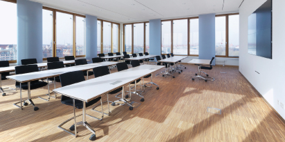 Tullnau Tagungspark - Conferences, events - Conference rooms in Nuremberg - Conference rooms directly at the Wöhrder See - equipped with state-of-the-art technology, meeting rooms, seminar rooms, seminars, event rooms, event location, B2B events, catering - Impressionen