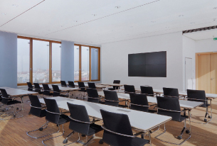 Tullnau Tagungspark - Conferences, events - Conference rooms in Nuremberg - Conference rooms directly at the Wöhrder See - equipped with state-of-the-art technology, meeting rooms, seminar rooms, seminars, event rooms, event location, B2B events, catering - Tagungsraum Tullnaupark