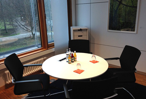 Tullnau Tagungspark - Conferences, events - Conference rooms in Nuremberg - Conference rooms directly at the Wöhrder See - equipped with state-of-the-art technology, meeting rooms, seminar rooms, seminars, event rooms, event location, B2B events, catering - Katzwang Gruppenraum