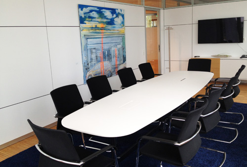 Tullnau Tagungspark - Conferences, events - Conference rooms in Nuremberg - Conference rooms directly at the Wöhrder See - equipped with state-of-the-art technology, meeting rooms, seminar rooms, seminars, event rooms, event location, B2B events, catering - Konferenzraum Sankt Lorenz