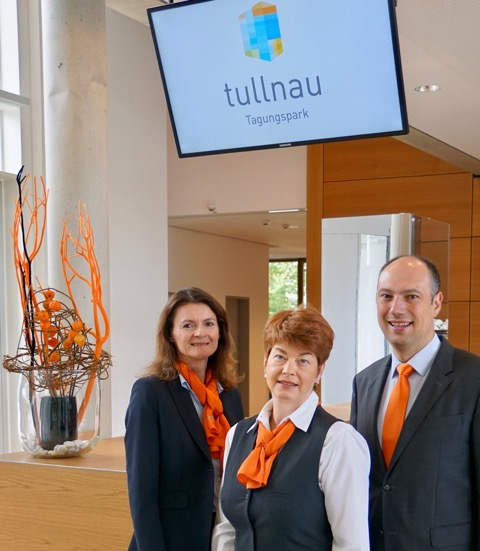 Tullnau Tagungspark - Conferences, events - Conference rooms in Nuremberg - Conference rooms directly at the Wöhrder See - equipped with state-of-the-art technology, meeting rooms, seminar rooms, seminars, event rooms, event location, B2B events, catering - Team
